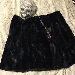 Joe Fresh Faux Fur Skirt